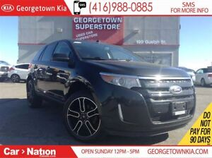 2014 Ford Edge SEL | AWD | LEATHER | CLEAN CARPROOF