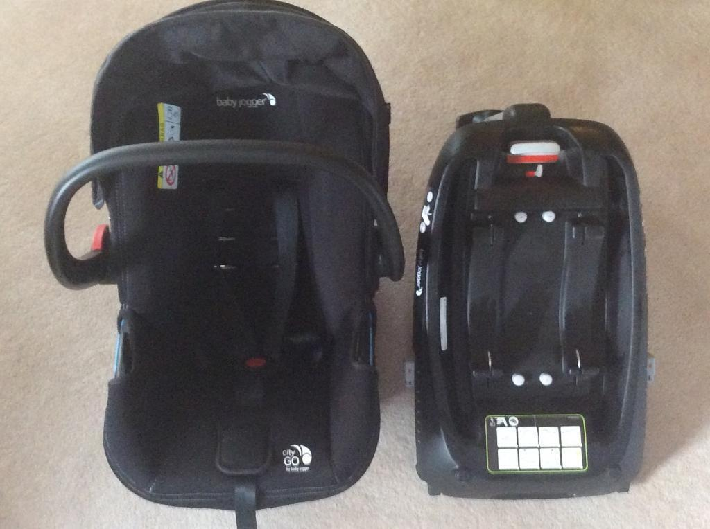 Baby jogger car seat and isofix base