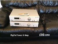 Acoustic solutions amp and tuner excellent condition, great sound