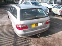 Mercedes w211 E class 03-2006 estate rear bumper complete £95 E200,240,220,270,320,CDI BREAKING, used for sale  Newcastle-under-Lyme, Staffordshire