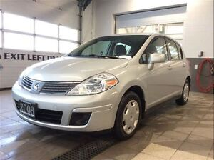 2008 Nissan Versa 1.8S - One Owner - Low km - No Accidents!