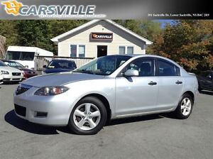 2008 Mazda MAZDA3 GS *LOW KMS*