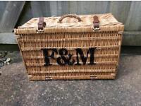 Fortnum & Mason picnic basket