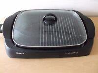 Kenwood electric Grill with glass lid
