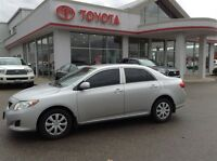 2010 Toyota Corolla CE ONLY 55,000 KM'S LOCAL TRADE GREAT SHAPE