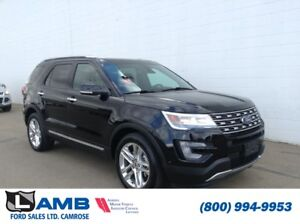 2017 Ford Explorer Limited 4WD with Class III Trailer Tow, Twin