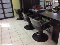 2 Hair Stylist Chairs for Rent at Upper James Street
