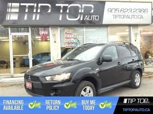 2011 Mitsubishi Outlander ES ** Low Kms, Bluetooth, Heated Seats