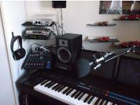 YAMAHA KX88 BASED RECORDING STUDIO