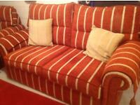 Settee and arm chair