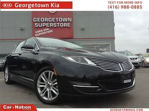 2014 Lincoln MKZ NAVI | LEATHER | BACK UP CAM | HYBRID| LOW KMS