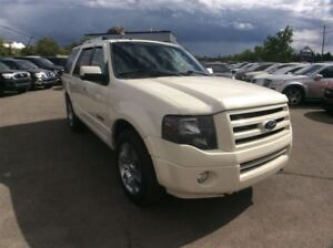 2008 Ford Expedition / LIMITED / DVD / LEATHER / AWD / SUNROOF