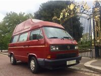 1990 VW T25 WESTFALIA CALIFORNIA 1.6TD ORIGINAL FACTORY PAINT SUPERB CONDITION AND FULLY SERVICED