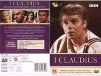 I Claudius - Complete BBC Series (5 Disc Box Set) in excellent condition, only played once