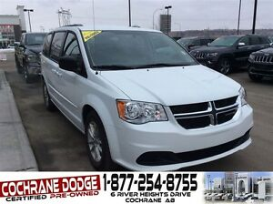 2016 Dodge Grand Caravan SXT W/REAR DVD!!