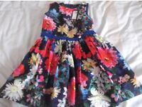 Girls party dress age 8 - 9 , unworn with tags, from M&S