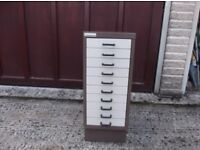 10 drawer filing cabinet used but in very good clean condition
