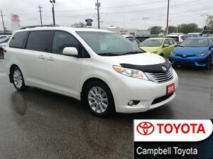 2012 Toyota Sienna XLE LIMITED DVD--DUAL ROOF--HEATED LEATHER