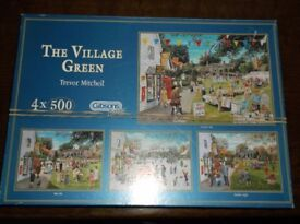 4 IN 1 SERIES OF 500 PIECE JIGSAWS