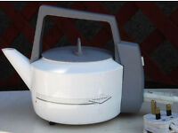 A low power Camping Kettle made by Powerpart designed to prevent power trips