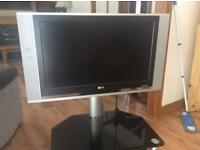 LG plasma TV with integrated Stand