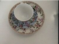 marks and spencer teacup saucer ad side plate