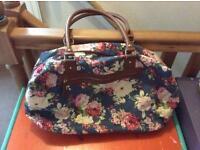 BHS large flowery bag