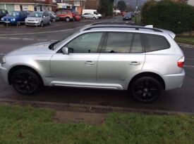 Good condition BMW X3 3.0i, Automatic, in M-trim