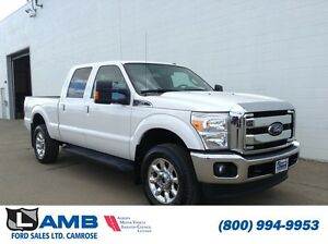2015 Ford Super Duty F-350 Lariat Ultimate Pkg 6.2L 5th Wheel Pr