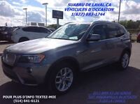 2013 BMW X3 XDRIVE 28I AWD,TOIT PANORAMIQUE,BLUETOOTH...