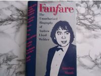 Interested in Andrew Lloyd Webber?? (the unofficial biography) hard back book