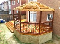 Well Done Carpentry specializing in deck and fence in Toronto