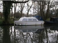 23 FT VIKING CANAL BOAT WITH BSS