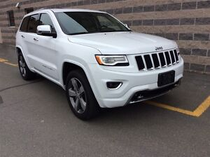 2016 Jeep Grand Cherokee OVERLAND/LEATHER/8.4 TOUCH SCREEN/PANOR