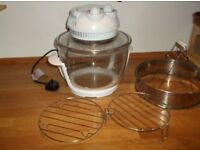 HALOGEN OVEN 11 LITRE WITH EXTENSION RING TO INCEASE VOLUME