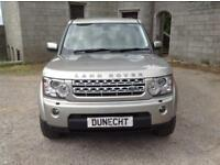 Land Rover Discovery 4 SDV6 XS (gold) 2013-09-03