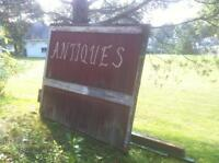 Antique barn materials