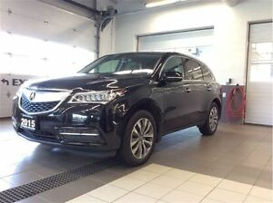 2015 Acura MDX Navigation Pkg - Power tailgate - 7 seater!