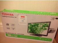 "Brand new 22"" TV /DVD combi in box"