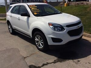 2017 Chevrolet Equinox LS/PWR OPTS/REAR BACK UP CAMERA/ALL WHEEL