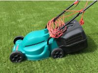 Bosch Rotak 320 lawnmower for sale. As new. Little used