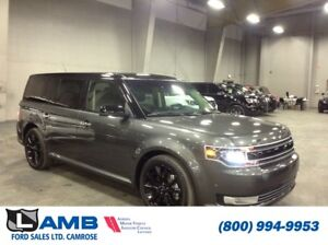 2017 Ford Flex Limited AWD with 3.5L Ecoboost Engine, Black Roof