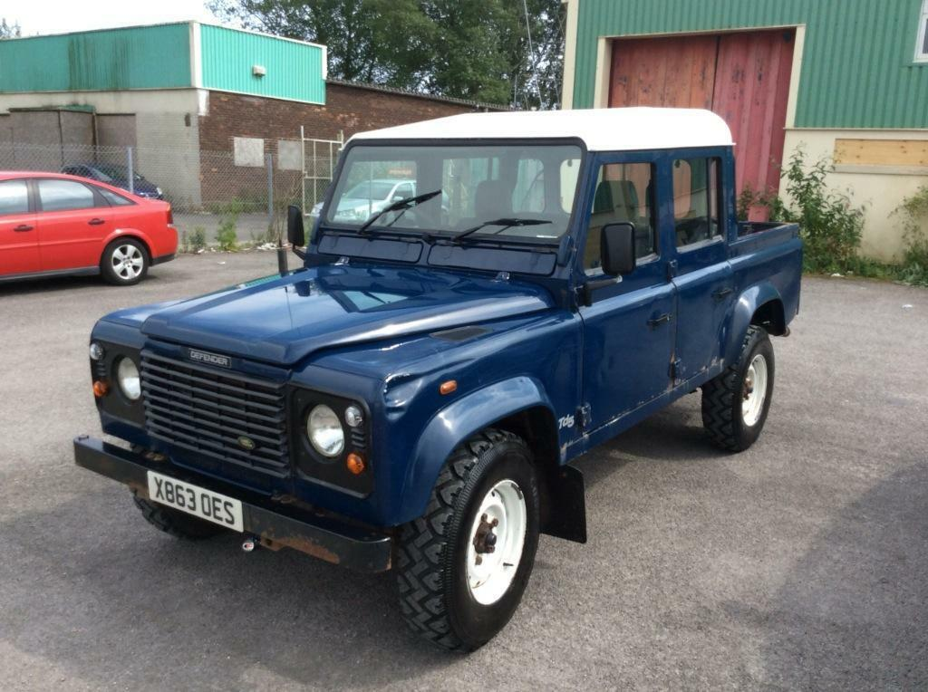 Landrover Defender 110 Crew Cab Pic Up In Bridgend Gumtree
