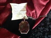 Harry Potter Horcrux Locket from the cave with R.A.B. note.