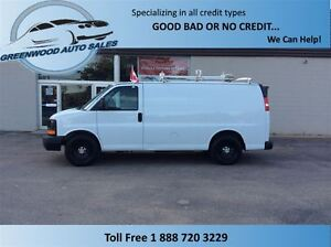 2011 Chevrolet Express 1500 CARGO WITH WINDOWS! FINANCE NOW!