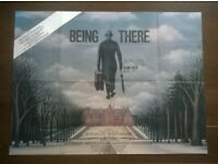 peter sellers ' being there ' original 1980s cinema poster