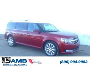 2013 Ford Flex Limited AWD with 3.5L Ecoboost, Adaptive Cruise a