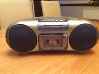 Stereo radio cassette player