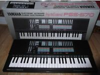 Yamaha PSS-570 Mini-key Electronic Keyboard