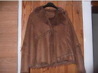 Faux fur lined jacket by Yazz